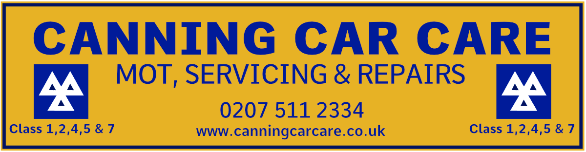 Canning Car Care Logo - MOT Testing Canning Town